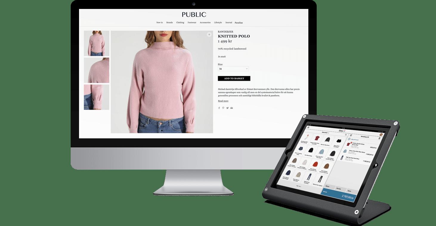 Sitoo POS med WooCommerce e-handel från Wetail